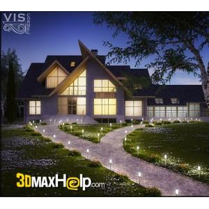 آموزش مدل سازی نمای بیرونی یک ساختمان در 3Ds Max