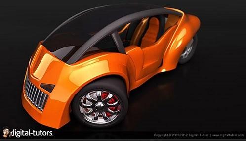 آموزش تکنیک ها و ابزارهای مدل سازی 3Ds Max به کمک انجام پروژه مدل سازی یک اتومبیل